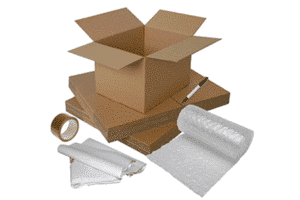 Moving packs - boxes and packing materials